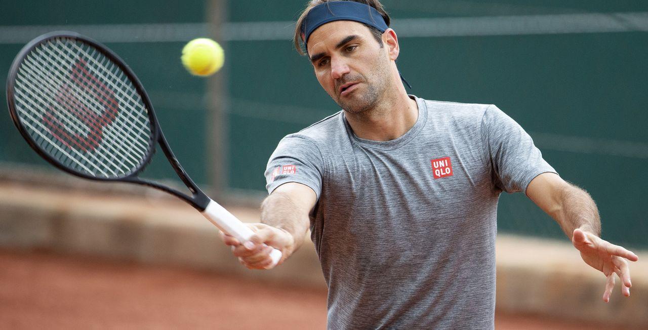 Roger Federer se frottera à un spécialiste de la terre battue pour son entrée en lice. [Salvatore Di Nolfi - Keystone]