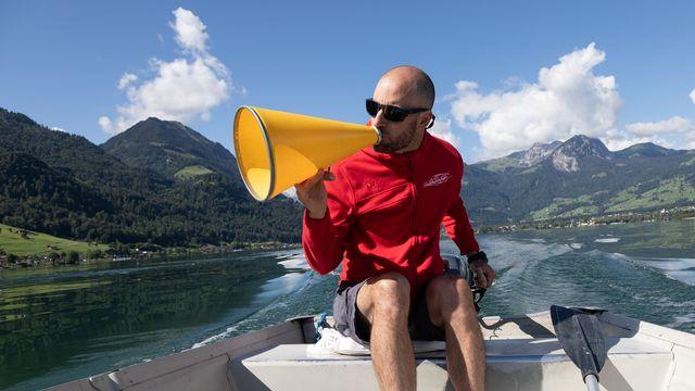 L'entraîneur chef de Swiss Rowing, Edouard Blanc, ne tarit pas d'éloges sur ses protégé(e)s. [SRI]