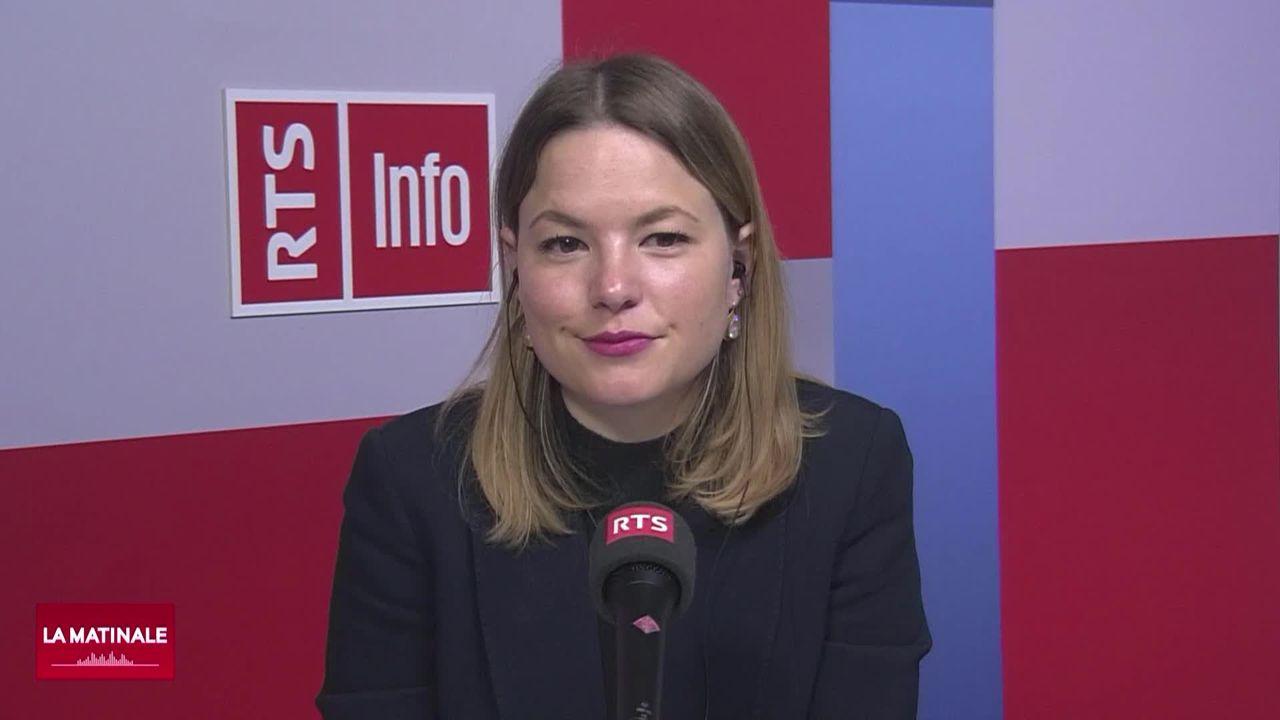 L'invitée de La Matinale - Niniane Paeffgen, directrice de la Swiss Digital Initiative (vidéo) [RTS]
