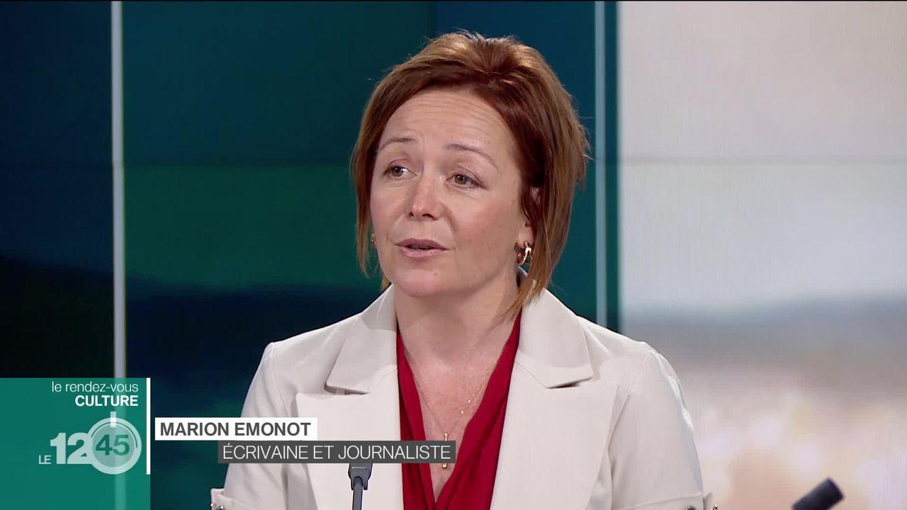"""Marion Emonot, l'invitée culture du 12h45 pour son récit """"Ressuscité"""" [RTS]"""