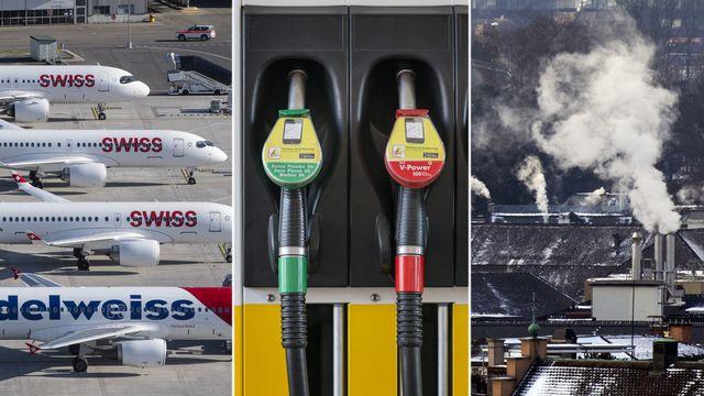 Que va coûter la loi sur le CO2 aux ménages suisses? [Keystone]