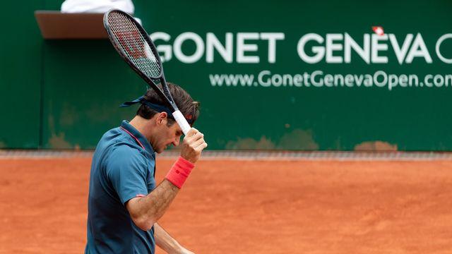 Roger Federer s'est incliné après 1h54 de jeu face à l'Espagnol Pablo Andujar. [Pascal Muller - Freshfocus]