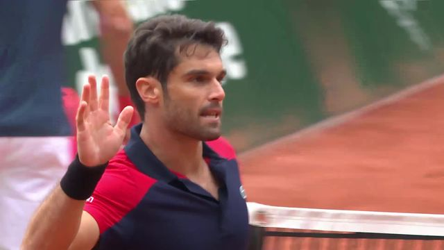1-8, R.Federer (SUI) - P.Andujar (ESP) (4-6, 6-4, 4-6): Roger s'incline dès son entrée en lice [RTS]