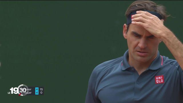 Eliminé au premier tour du Geneva Open, Roger Federer manque son retour à la compétition [RTS]