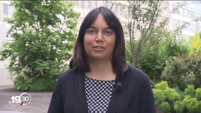 La climatologue Sonia Seneviratne analyse l'hypothèse d'un lien entre dérèglement climatique et froid historique du mois de mai [RTS]