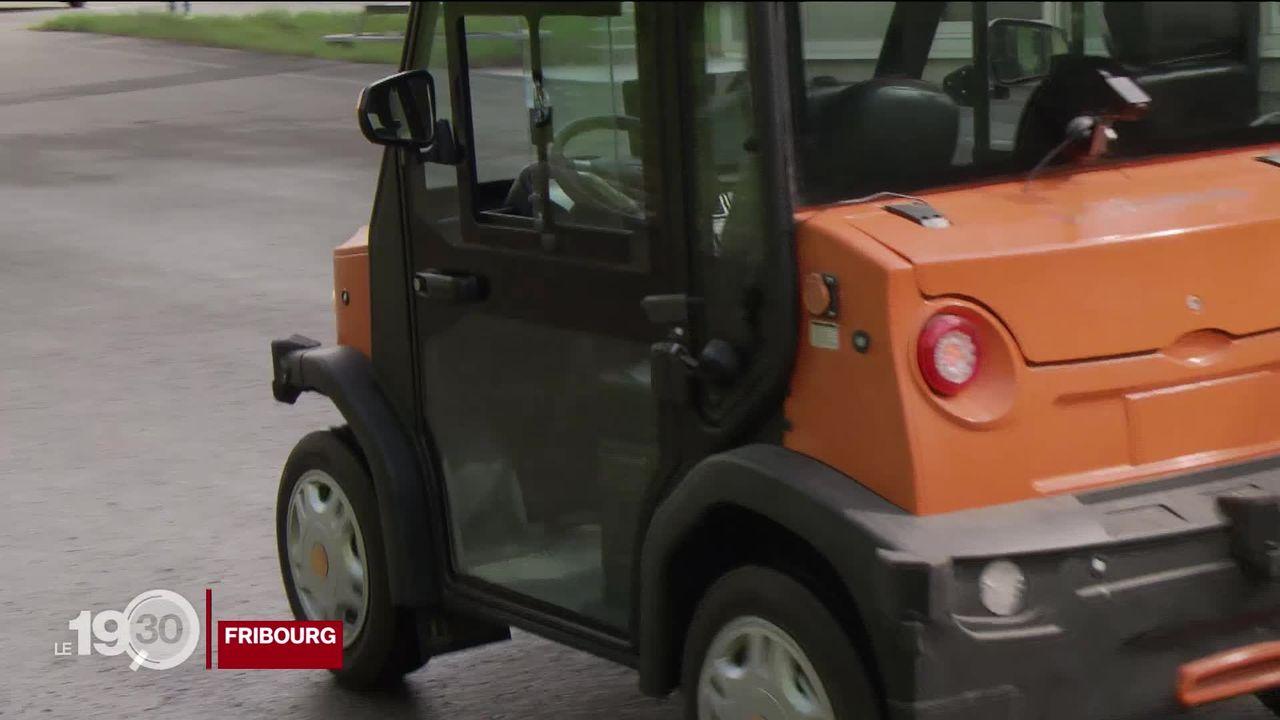 Swissmoves présente le premier véhicule routier piloté à distance [RTS]