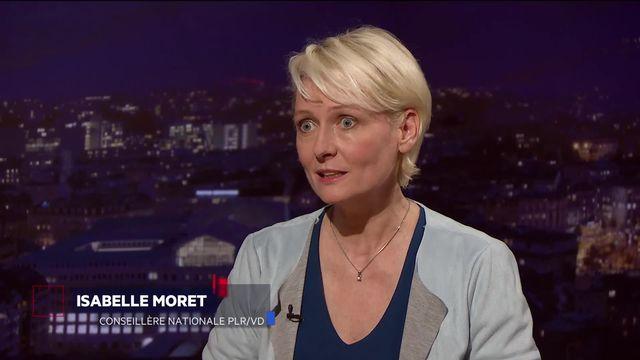 Invitée : Isabelle Moret [RTS]