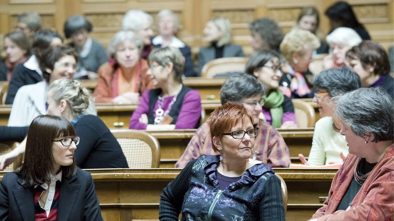 Journée de rencontre des femmes au National en février 20210 (image d'illustration). [Peter Schneider - Keystone]