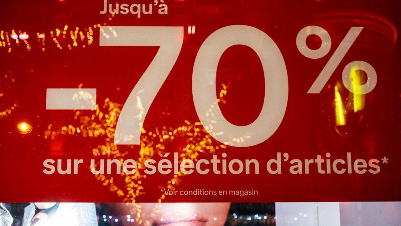 Les contraintes liées à l'affichage des prix sur les affiches, brochures et autres flyers vont être réduites. [Mathieu Menard - AFP]