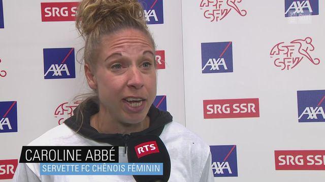 Women's Super League: Caroline Abbé, future retraitée, à l'interview [RTS]