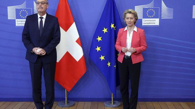 Un abandon de l'accord-cadre aurait de lourdes conséquences dans certains domaines. [Francois Walschaerts - AP]