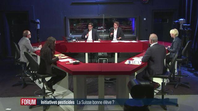 Débat votations du 13 juin - La Suisse est-elle bonne élève en matière de pesticides ? [RTS]