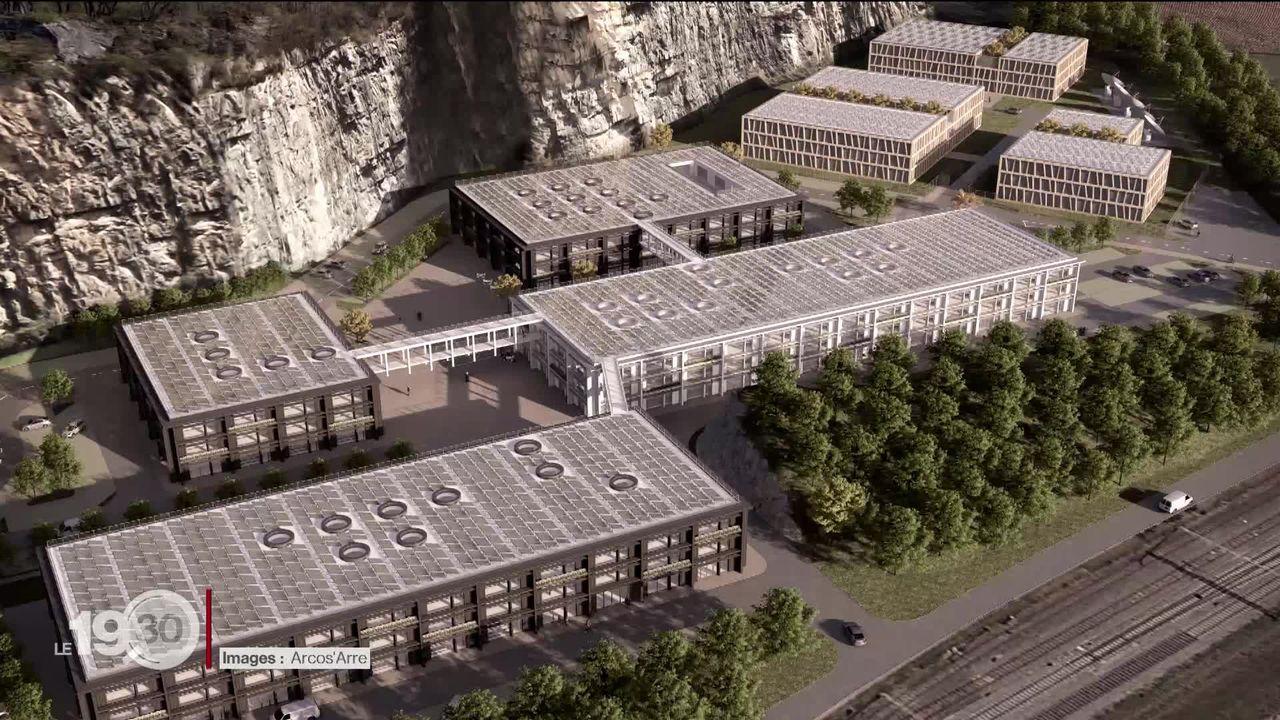 Le Chablais vaudois pourrait abriter l'un des plus grands centres de données informatiques du pays [RTS]
