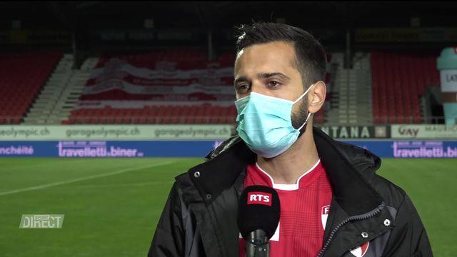 36e journée, Sion - Bâle (4-0): Tosetti s'exprime après la victoire [RTS]