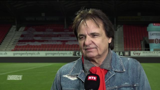 36e journée, Sion - Bâle (4-0): l'interview de Constantin [RTS]