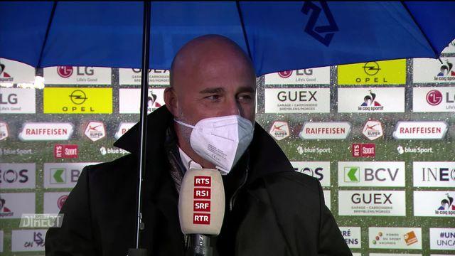 36e journée, Lausanne- Young Boys (2-4): Contini à l'interview après son dernier match [RTS]