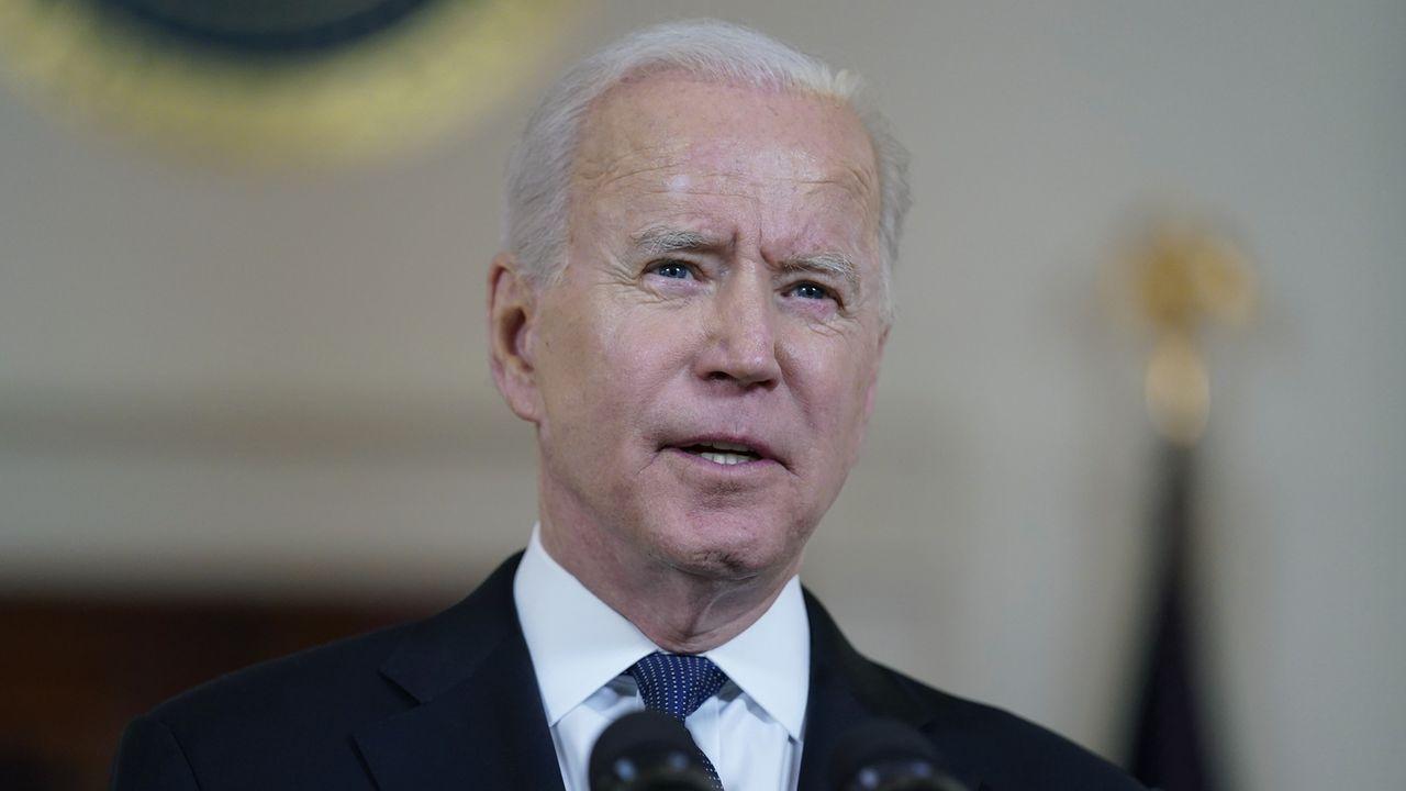 Conflit israélo-palestinien: Joe Biden veut une solution à deux Etats. [Evan Vucci - Keystone]