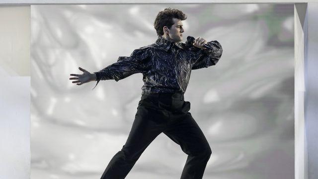 Le Suisse Gjon's Tears finit troisième de l'Eurovision, remporté par l'Italie [Peter Dejong - AP Photo]