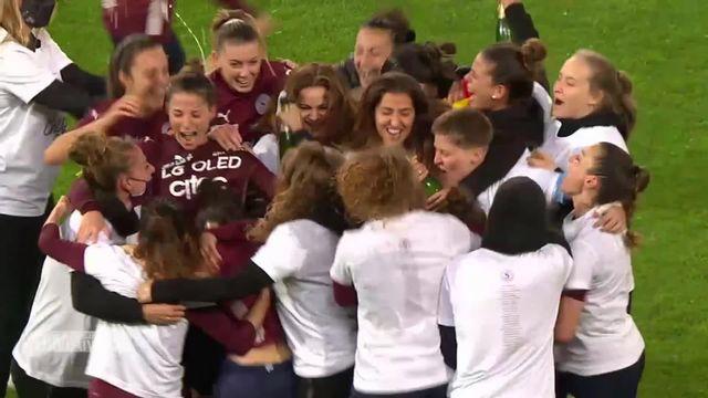 Football, Championnat suisse féminin: le sacre du Servette-Chênois [RTS]