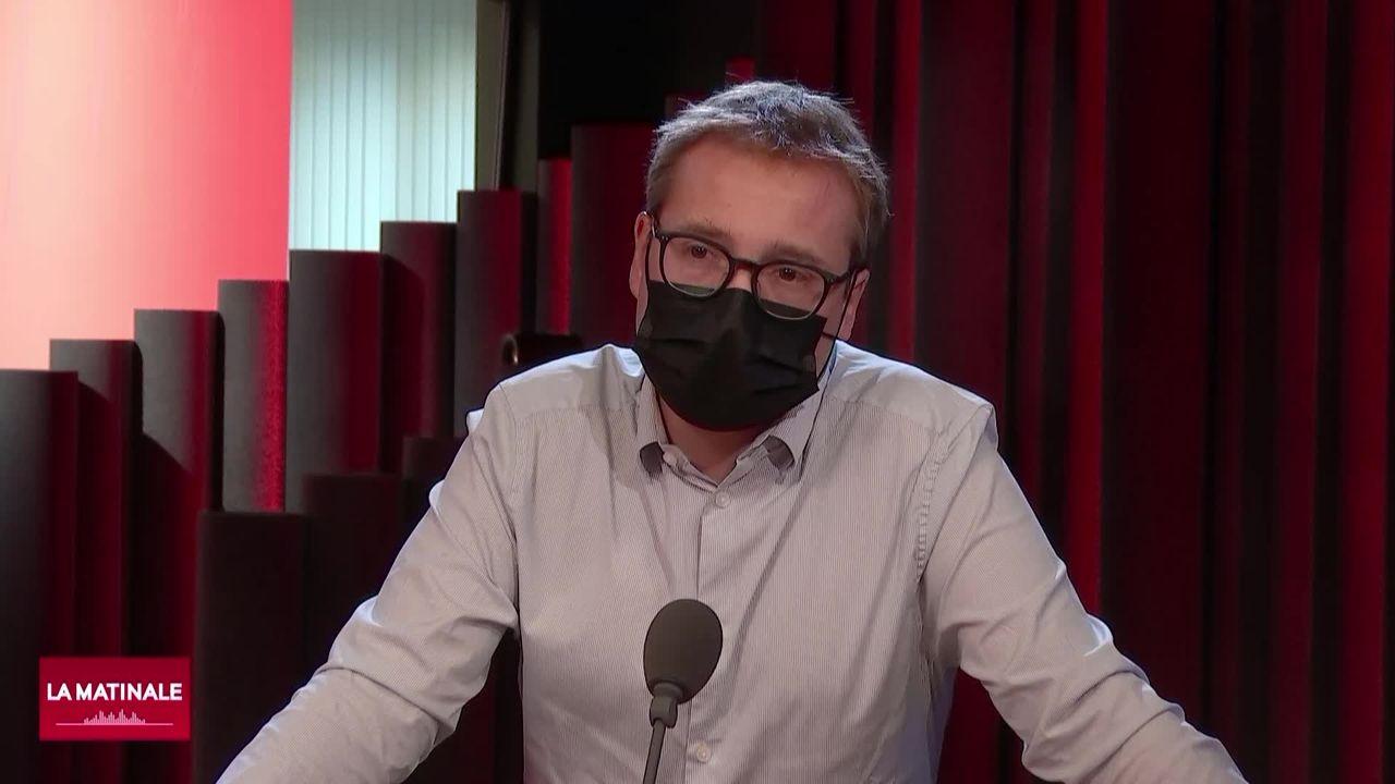 L'invité de La Matinale (vidéo) - Philippe Nantermod, vice-président du PLR suisse [RTS]