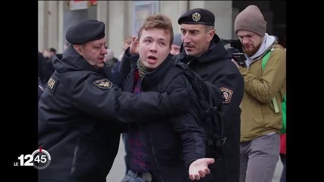 Biélorussie: une vidéo de Roman Protassevitch diffusée sur la télévision publique tandis que l'UE ferme son espace aérien [RTS]