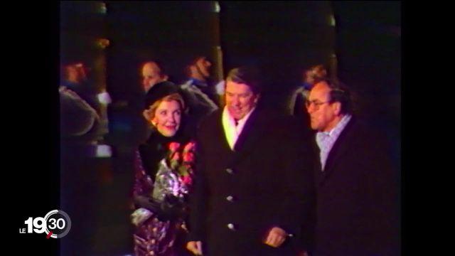En 1985, la rencontre entre Ronald Reagan et Mikahil Gorbatchev à Genève marquait le début de la fin de la Guerre froide. [RTS]