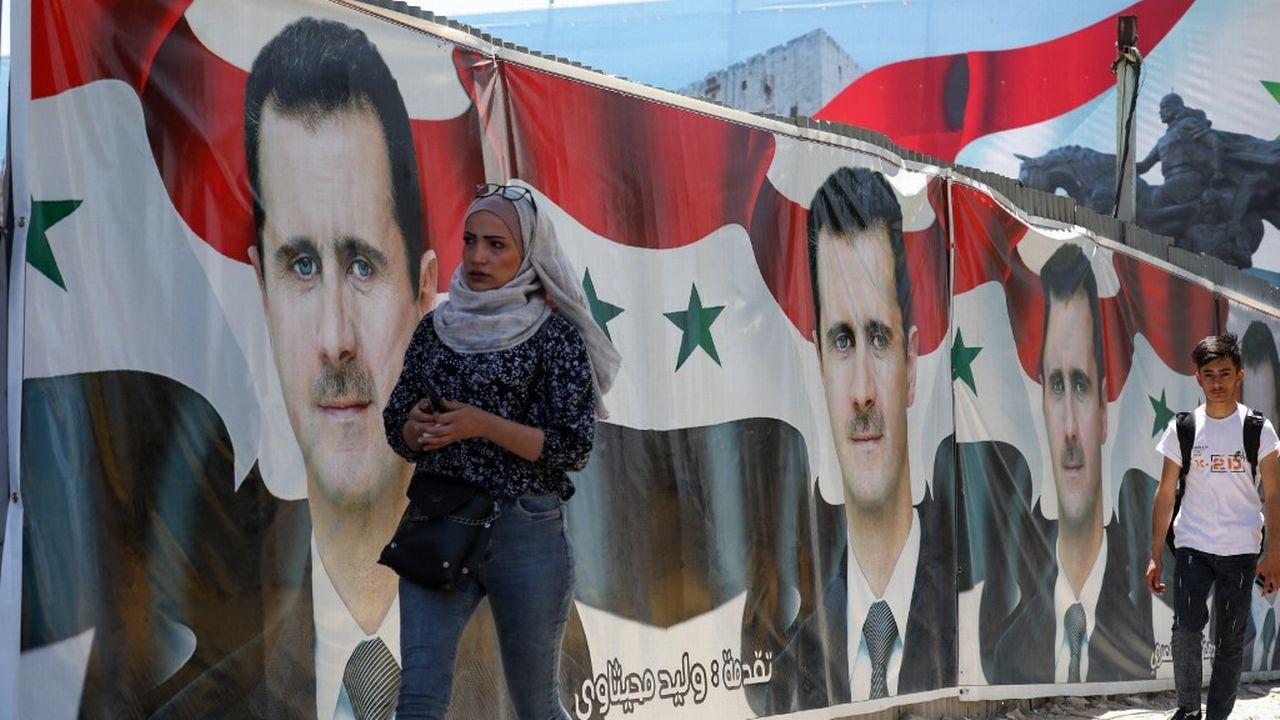 L'élection présidentielle en Syrie devrait permettre à Bachar al Assad de remporter un quatrième mandat. [Louai Beshara - AFP]