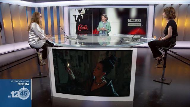La journaliste de l'Illustré Albertine Bourget et la critique de cinéma Séverine Graff discutent des sorties cinéma. [RTS]