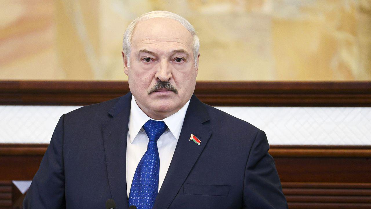 """Après le discours de M. Loukachenko, la Russie a indiqué ne pas avoir """"de raisons de ne pas croire les déclarations des dirigeants biélorusses"""". [Sergei Shelega - Keystone]"""