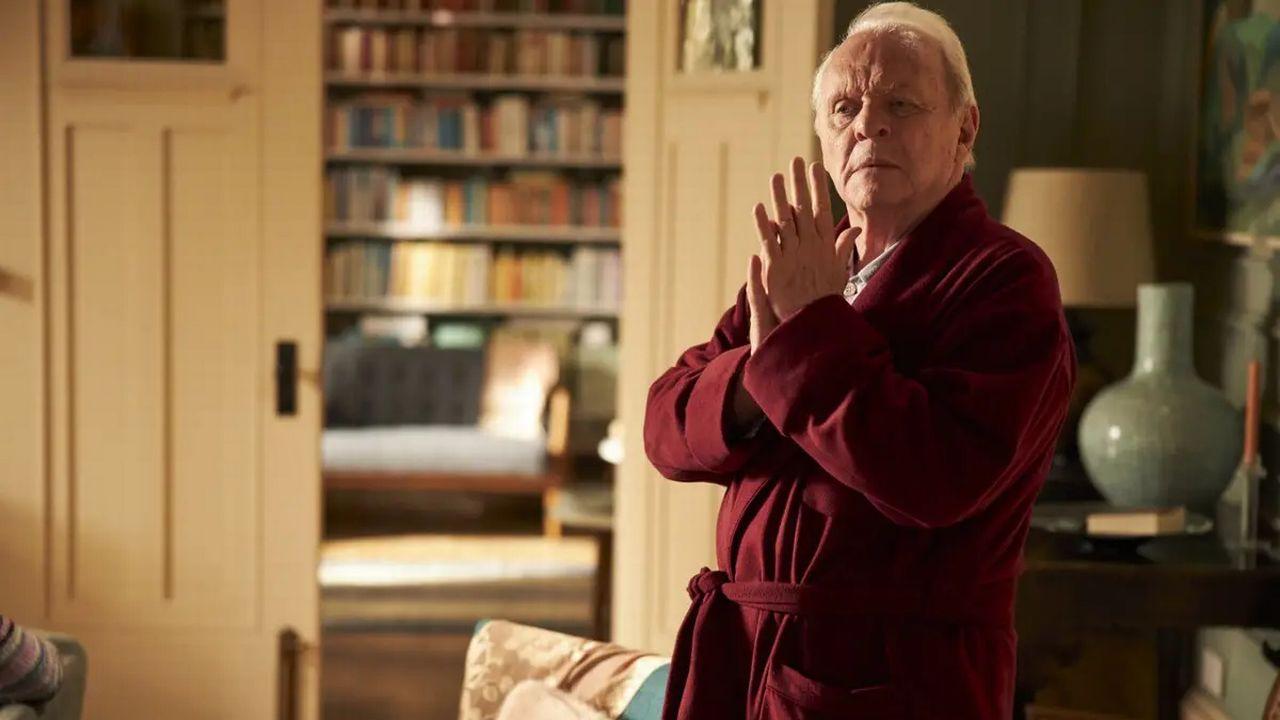 """Anthony Hopkins dans le film """"The Father"""" de Florian Zeller. [Ascot Elite Entertainment Group - DR]"""