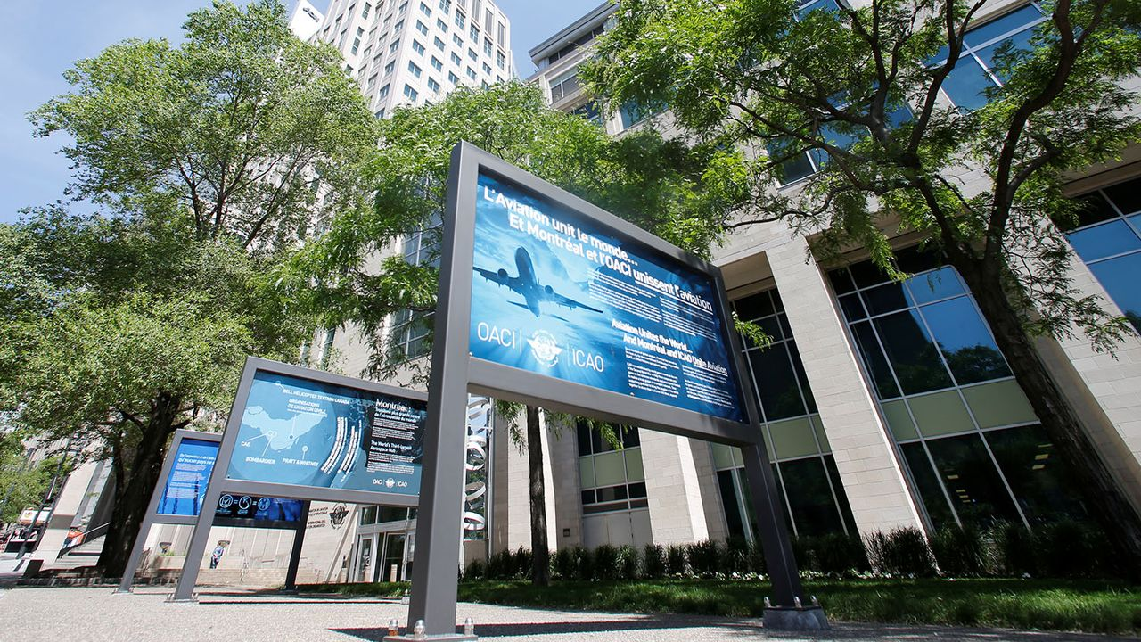 Le siège de l'OACI à Montréal, au Canada. [Christinne Muschi - Reuters]