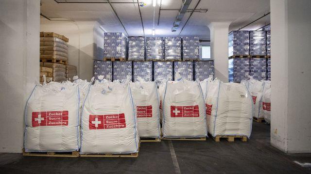 Pas de mesures de soutien supplémentaires pour le sucre suisse. [Christian Beutler - Keystone]