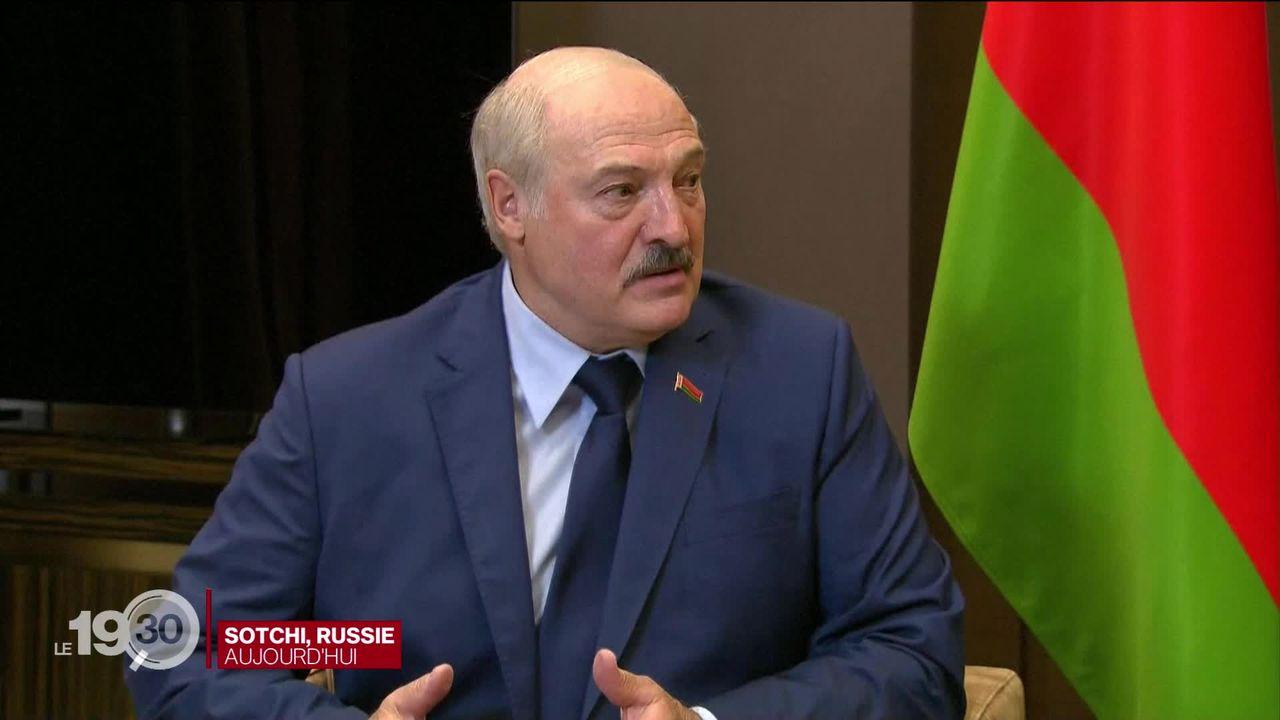 En pleine crise diplomatique, le président biélorusse reçu par Vladimir Poutine, son allié indéfectible [RTS]