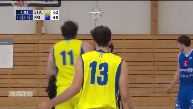 Basket, Playoffs: Finale, match 2, Starwings Basket - Fribourg Olympic (66-82) [RTS]