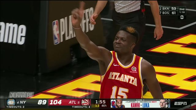 Basketball, NBA, Playoffs: Atlanta Hawks - New York Knicks (2-1) [RTS]