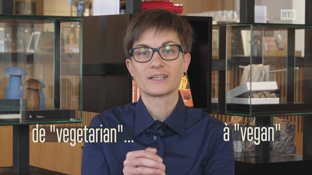 """Le véganisme - D'où vient le mot """"vegan""""? [RTS]"""
