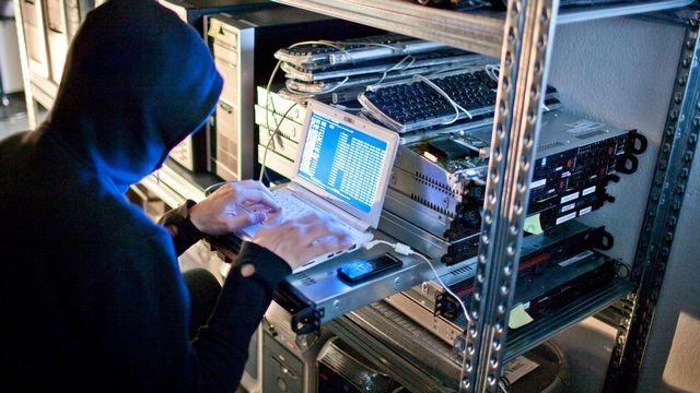 La cybercriminalité est en hausse depuis le confinement. [Gaetan Bally - Keystone]