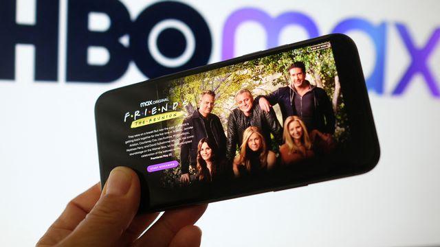 """Dix-sept ans après la fin de la série culte, le casting de """"Friends"""" sʹest retrouvé pour une émission événement sur la plateforme de streaming HBO Max. Chris Delmas AFP [Chris Delmas - AFP]"""