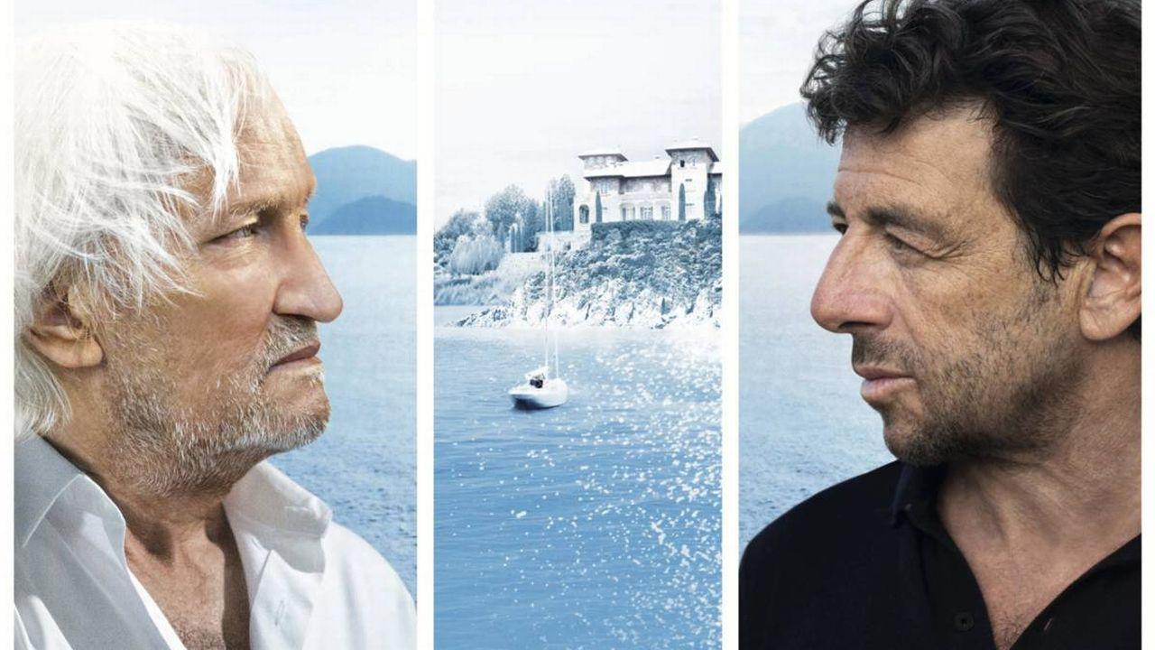 """L'affiche du film """"Villa Caprice"""", avec Niels Arestrup et Patrick Bruel. DR [DR]"""