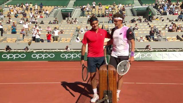1er tour, D.Istomin (UZB) - R.Federer (SUI) (2-6, 4-6, 3-6): Roger réussi parfaitement son entrée en lice [RTS]