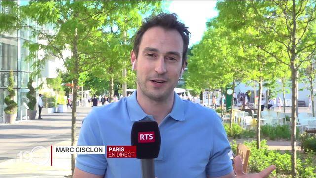 Roland-Garros : le point de la journée avec Marc Gisclon. [RTS]