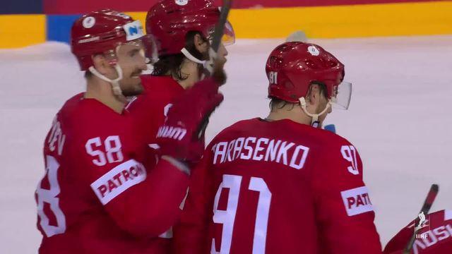 Groupe A, Russie - Suède (3-2 tb): tenante du titre, la Suède prend la porte ! [RTS]
