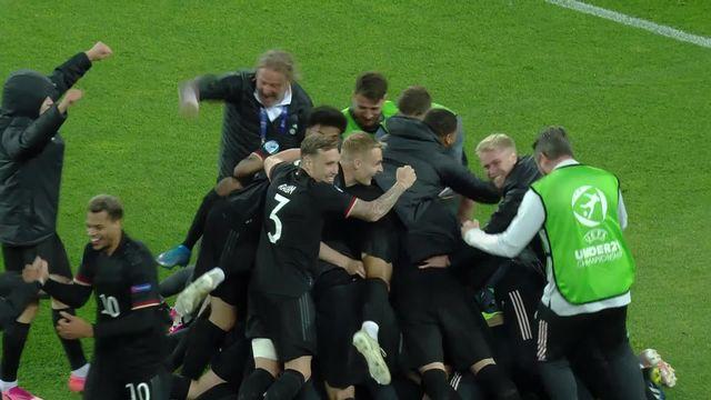 1-4, Danemark - Allemagne (7-8 tb): une victoire au bout du suspens pour l'Allemagne [RTS]