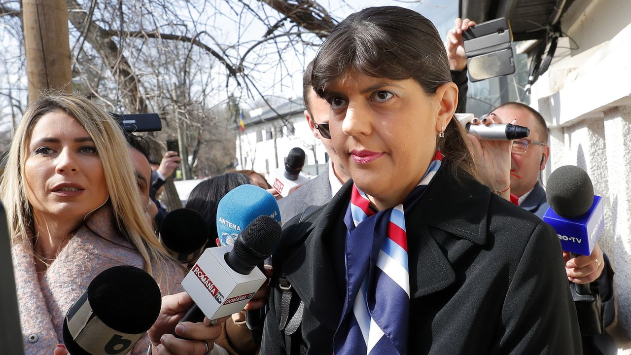 La Roumaine Laura Kövesi va diriger le nouveau parquet européen. [Robert Ghement - Keystone]