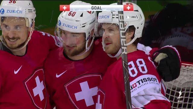 Groupe A, Suisse - Grande-Bretagne (6-3): dernier match des phases de poules réussi par la Nati [RTS]