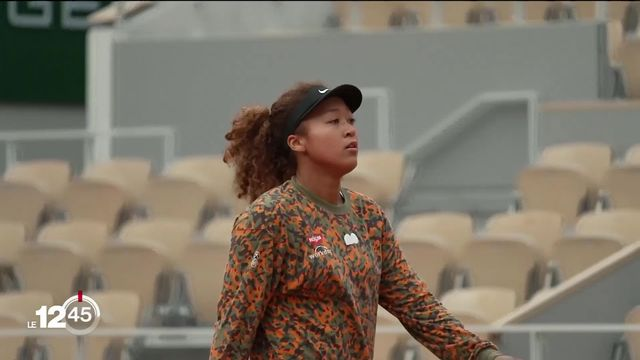 Naomi Osaka se retire de Roland-Garros [RTS]