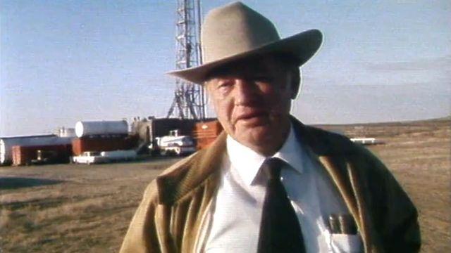 Un prospecteur de pétrole texan en 1983. [RTS]