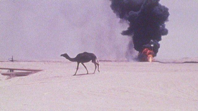 Les champs de pétrole d'Arabie Saoudite en 1974. [RTS]