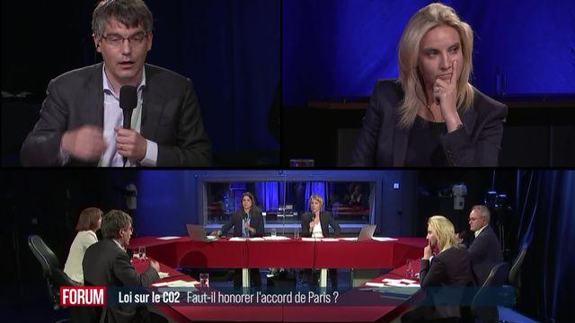 Le débat sur la loi CO2: l'accord de Paris [RTS]