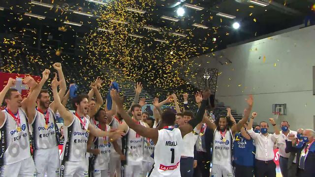 Finale, match 3, Fribourg Olympic - Starwings Basket (85-76): le sacre pour les Fribourgeois, champions Suisses ! [RTS]